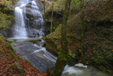 Uguna waterfall, Gorbea Natural Park, Vizcaya, Spain