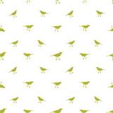 Birds Motif Seamless Pattern - 181614142
