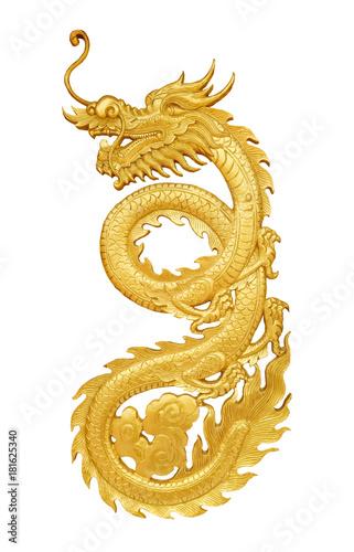 golden craft dragon © thawornnurak