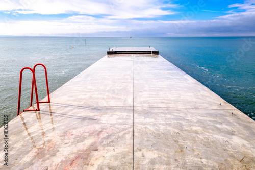 Plexiglas Pier modern jetty