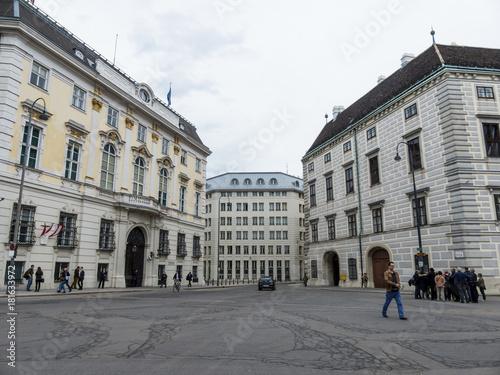Foto op Plexiglas Wenen austria. vienna. federal chancellery