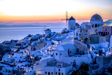 oia at sunset - 181658775