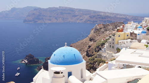 Deurstickers Santorini santorini greece island awesome view