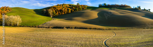 Deurstickers Toscane Idyllic rural scenery and picturesque landscapes of Tuscany. Italy