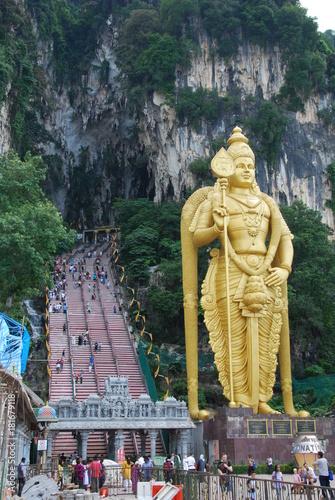 Fotobehang Kuala Lumpur Batu Caves, Kuala Lumpur, Malaisie