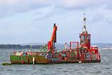 Dredging Barge - 181685592