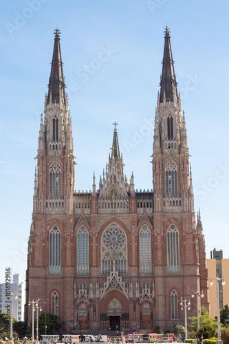 Fotobehang Buenos Aires Catedral de La Plata Buenos Aires