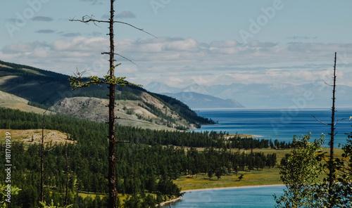 Plexiglas Donkergrijs Lake View