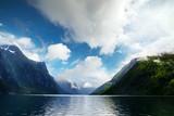 Lovatnet lake in Sogn og Fjordane county