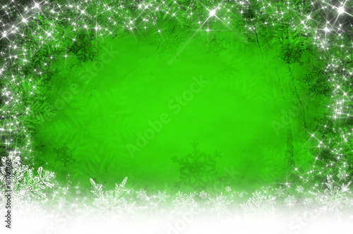 Green christmas background - 181718162