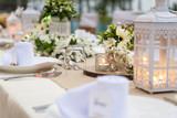 Romantic dinner setting - 181740756