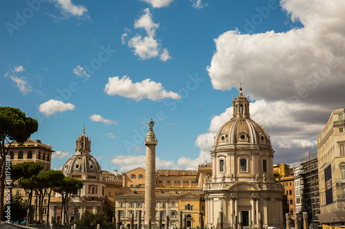 Foto op Canvas Rome View of Rome, Italy .