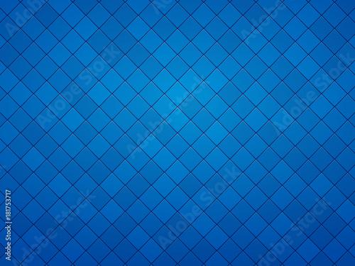 blue geometric mosaic textured background