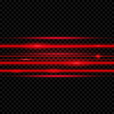 Abstract  laser beams. Isolated on transparent black background. Vector illustration, eps 10 - 181763905