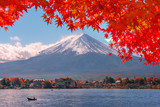 Autumn at Fuji mountain in Japan. - 181782900
