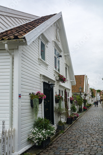 The city of Stavanger in Norway