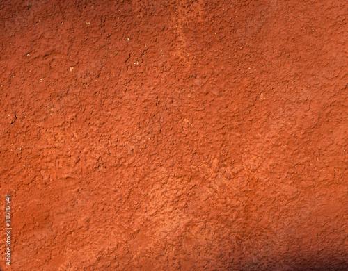 Textura de pared roja