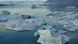 Iceland landscape glacier iceberg