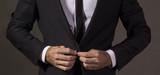 Close up of a gentleman in business attire.Studio shot