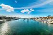 Quadro Balboa island harbor in Newport Beach
