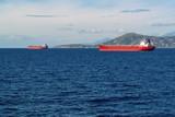 sea landscape and cargo ships - 181803793