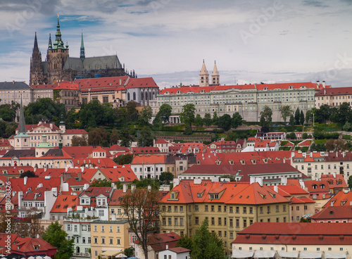 Staande foto Praag Beautiful view in Prague..