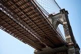 New York - Brooklyn Bridge von unten - 181812523