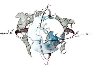 globe © okalinichenko