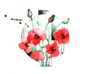 poppies © okalinichenko