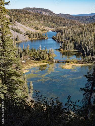 Foto op Plexiglas Grijze traf. Twin Lakes