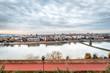Panoramic view of the city Novi Sad,Serbia