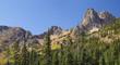Colorful Eroded Mountains of Cascades National Park, Washington