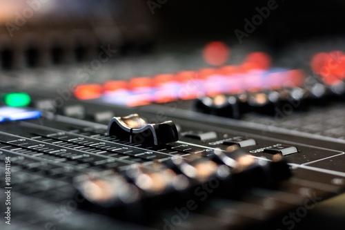 studio mixer