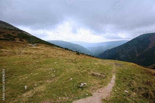 Fotobehang Zomer Stone mountain landscape