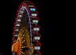 Ferris wheel Berlin Christmas market