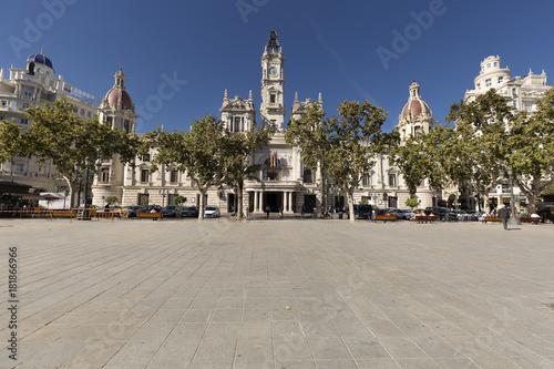 City Hall of the Spanish city of Valencia