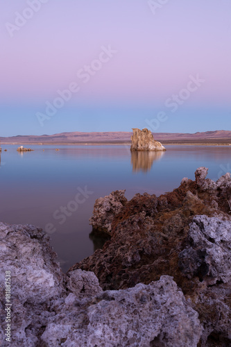 Aluminium Purper Mono Lake Sunset
