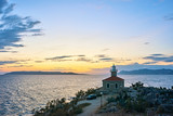 Amazing sea bay with 