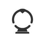 Spinning wheel sign illustration. Simple flat icon - 181897339