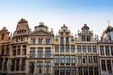 ancient buildings at Brussels, Belgium - 181913999