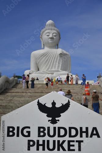 Staande foto Boeddha big buddha phuket