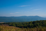 distance , horizon. Caucasus