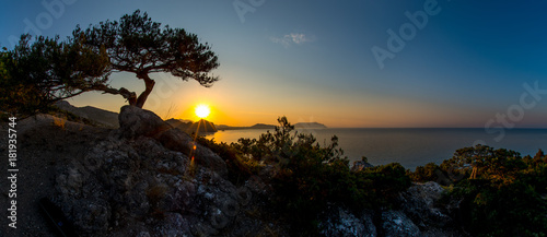 Fotobehang Zwart Beauty nature landscape Crimea