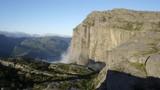 Misty morning on Preikestolen - 181942935