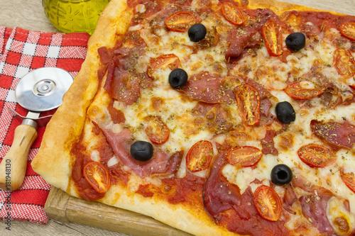 Papiers peints Pizzeria pizza