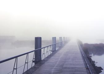 matin brumeux, parc Heyritz Strasbourg