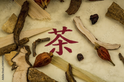 tea for traditional chinese medicine - 181953314
