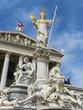 austria, vienna, parliament - 181954345