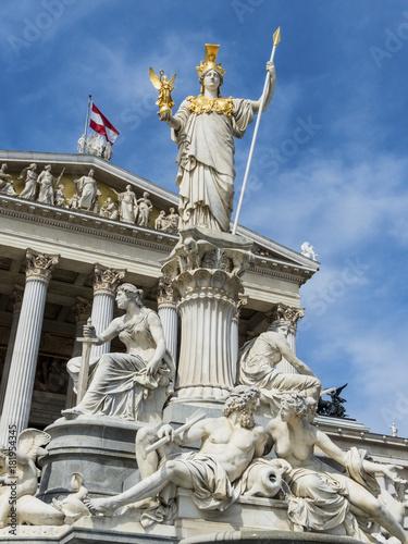 Fotobehang Wenen austria, vienna, parliament