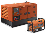 illustration of power generators - 181968707
